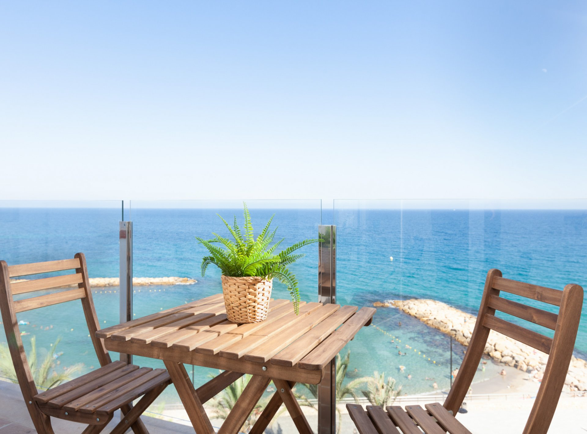-La Cala Beach TERRACE 4B Deluxe Apartment-